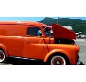 1951 Fargo Panel Truck Antique Show Duncan BC 2012