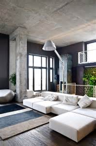 20 concrete living room design ideas decoholic