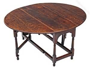 Drop Leaf Gateleg Dining Table Georgian Oak Gateleg Drop Leaf Dining Table Antiques Atlas