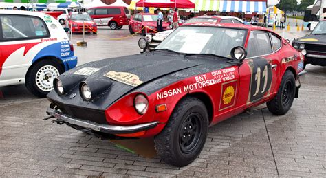 datsun race car datsun fairlady 240z 001 international chionship for