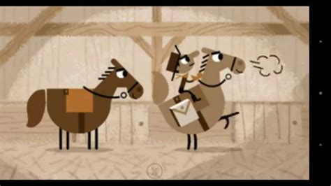 play doodle pony express search april 14 2015 pony express doodle