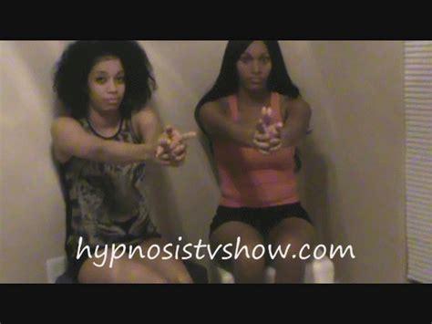 Women under erotic hypnosis