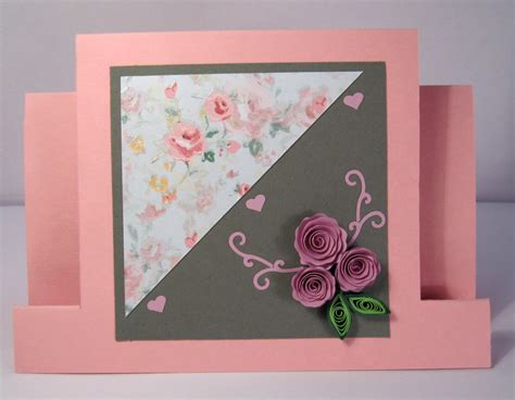 Handmade Card For - handmade quilling birthday card quilled flowers design