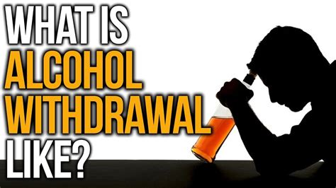 What Does Detox Feel Like For An Alcoholic by What Is Withdrawal Like Withdrawal