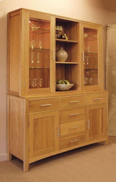 Large Oak Dresser or Display Cabinet   Hereford Oak