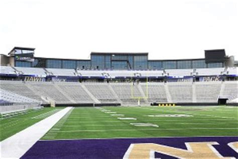 husky stadium student section the new husky stadium improves a great venue except for