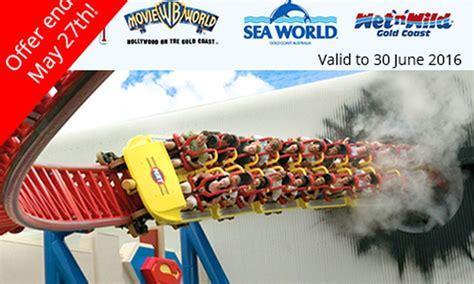 theme park vouchers gold coast themeparks com au in groupon getaways