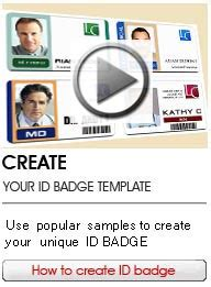 id card template maker id badge maker low cost and professional card