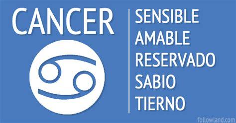 que signo del zodiaco es compatible con cancer tu personalidad seg 250 n tu signo del zodiaco