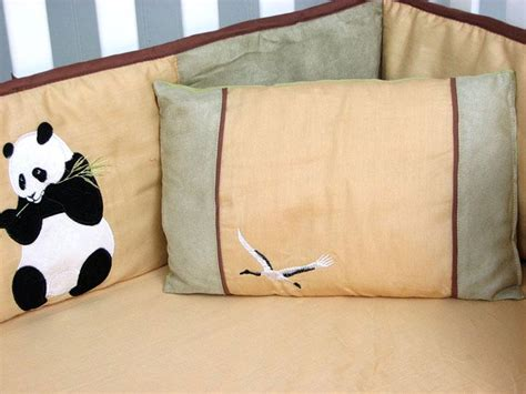panda crib bedding soho designs giant panda bear baby crib nursery bedding