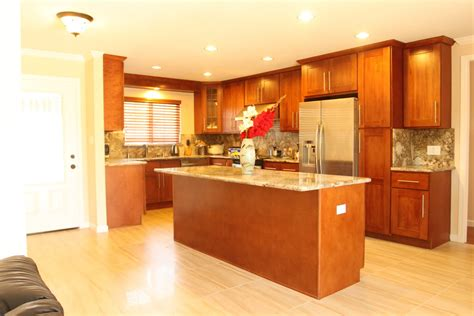 cherry cabinet kitchens hong bo hardware supply cherry shaker kitchen cabinets juperano bruzio granite counter top