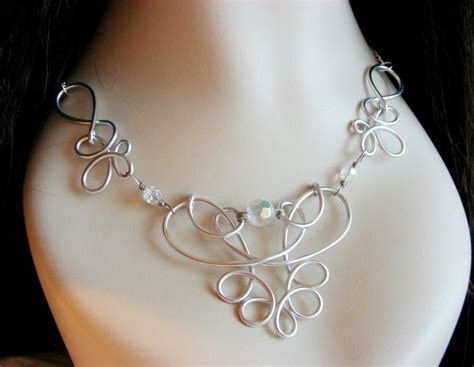 wire for jewelry eosheal ornate wire necklace