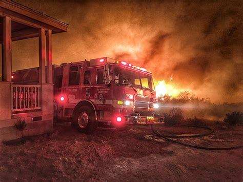 San Bernardino Fireplace by Pilot Burns Thousands Of Acres Near Crestline