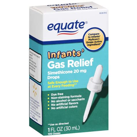 gas relief equate simethicone infants gas relief 20mg drops 1 oz walmart