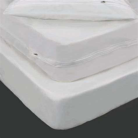 Plastic Mattress And Box Covers by 6 Vinyl Zippered Mattress Boxspring Cover