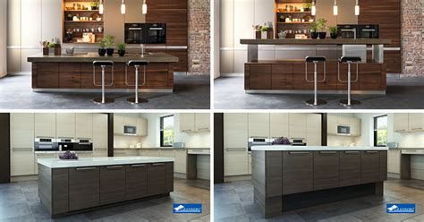 height of a kitchen island kitchen design idea adjustable height kitchen island contemporist