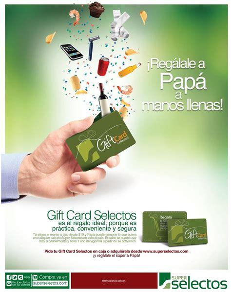 Super Gift Card - manos llenos a papa con una gift card de super selectos ofertas ahora