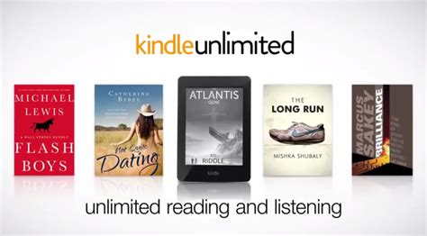 amazon unlimited amazon kindle unlimited netflix for books arrives in uk