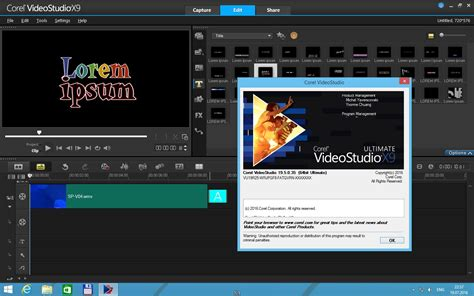 Corel Videostudio Ultimate X9 Version corel videostudio ultimate x9 19 5 0 35 standardcontent bonus multi 2016 скачать торрент
