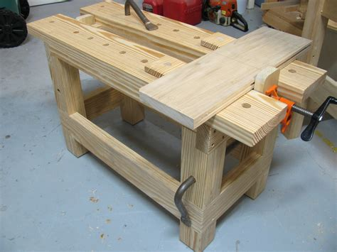 homemade bench vise plans sawbench by silverbackreef lumberjocks com