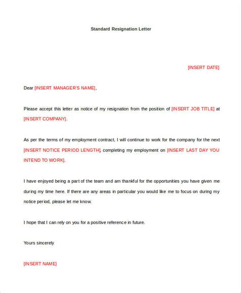 Resignation Letter Sle Doc 24 Letter Templates In Doc Warehouse Resume Skills List Resume Web Design Exles Garyshort Org
