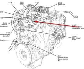 Ford Ranger Coolant Temperature Sensor Location Where Is The Coolant Temperature Sensor Located On My