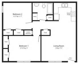 2 br 1 bath house plans arts two bedroom two bath floor plan berry hill place
