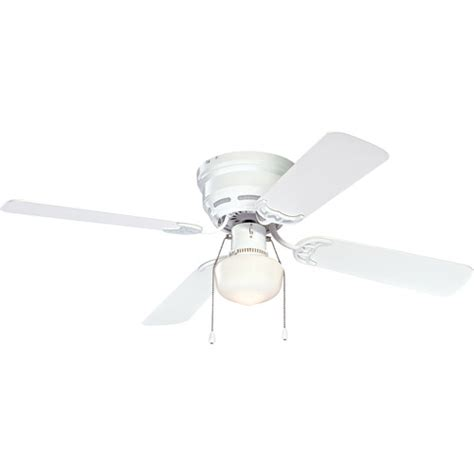 mainstays ceiling fan mainstays 42 quot ceiling fan with light kit white walmart