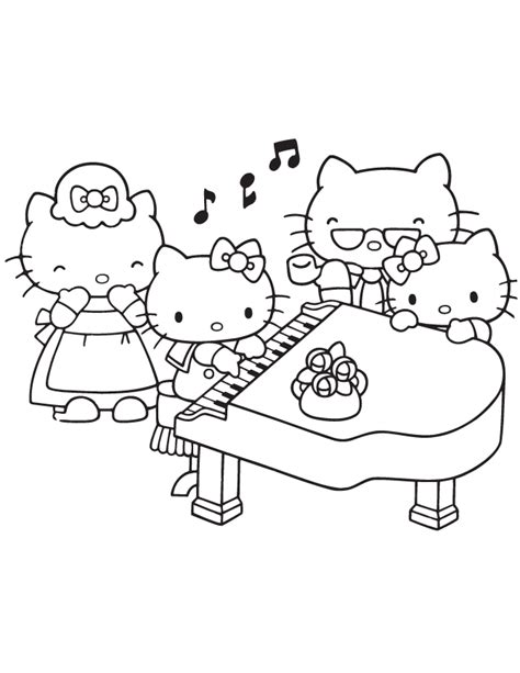 coloring page girl playing piano the fourth musketeer the answer you ve been waiting for