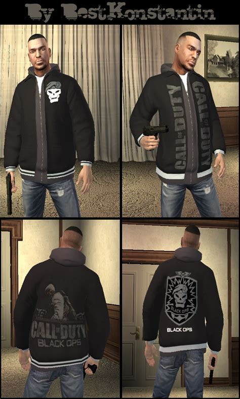 Liberty City Gta Jacket Black cod black ops gta 4