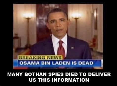 Many Bothans Died Meme - 25 funniest obama memes from the osama drama