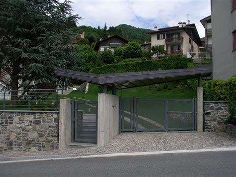 ingresso pedonale nuova pensilina di ingresso lorenzo rigamonti