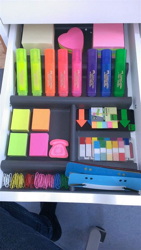 Desk Organization Supplies 7 Studying Study Pinterest Beautiful Study Motivation And School Supplies