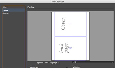 page layout a5 booklet creating a pdf from indesign s print booklet feature