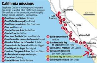 mission california map mission san luis a report by t