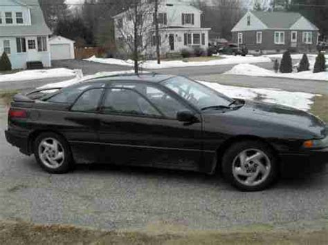 subaru coupe black sell used 1992 subaru svx lsl coupe 2 door 3 3l black