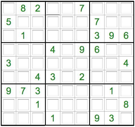 sudoku printable para imprimir gratis blog tecnos juego sudoku online gratis
