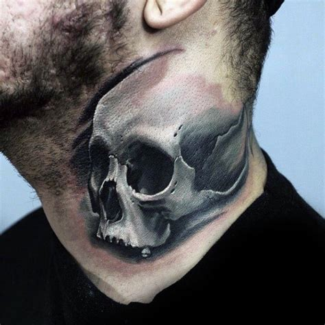 black and white skull tattoos 75 black and white tattoos for masculine ink designs