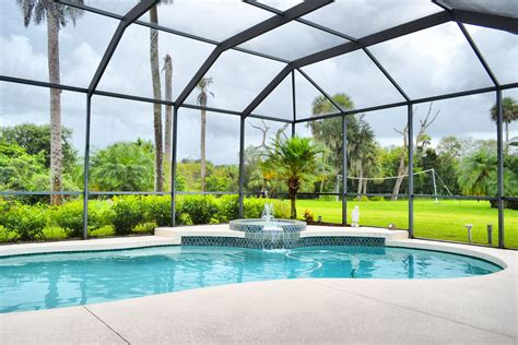 Home Idea 5339 by Parrish Florida Swimming Pool Screened Lanai