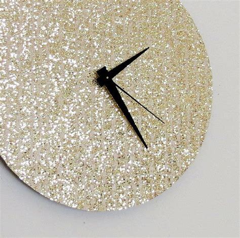 glitter home decor sale glitter clock trending gold glitter home decor