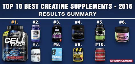 creatine brands top 10 best creatine supplements of 2016 mr supplement