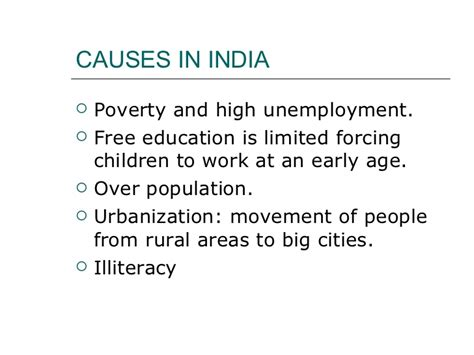 Essay Problem Child Labour India by Child Labour Problem In India Essay For