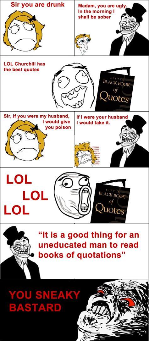 Funny Comic Memes - le quotes le rage comics