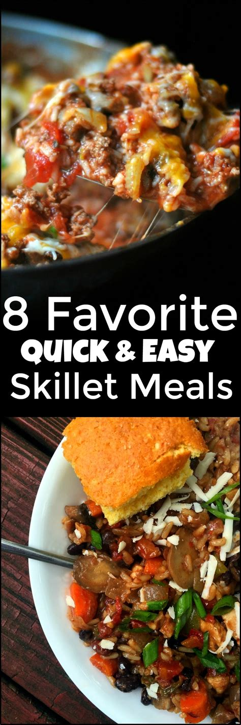 favorite quick easy skillet meals aunt bee s recipes
