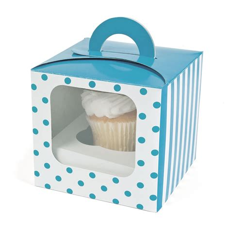 cupcake window boxes polka dot cupcake boxes 12 pk window bakery by