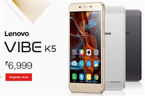 Lenovo Vibe K5 Ram 2gb Lenovo Vibe K5 With 2gb Ram And 13mp Rear Launched