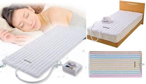 Electric Cooling Mat by Japan Trend Shop Cooling Heating Shiki Bed Pad