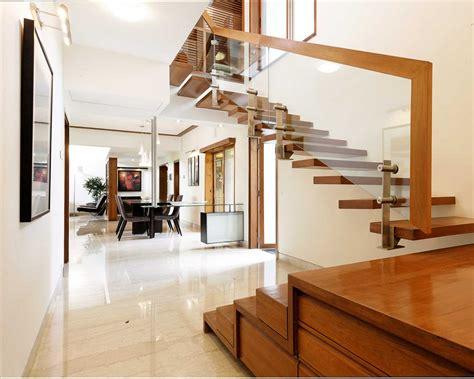 spacious bungalore duplex interior design with floating