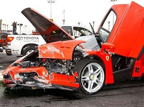 Eddie Griffin Destroys A Million Dollar Car by F As In Eddie Griffin Enzo Crash Conspiracy