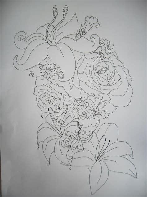 tattoo outlines pinterest flower tattoo outline tattoos pinterest tattoo
